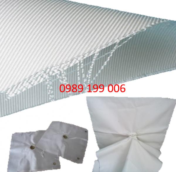 Vải Lọc Ép Bùn (Tấm/Cuộn Vải Ép Bùn)